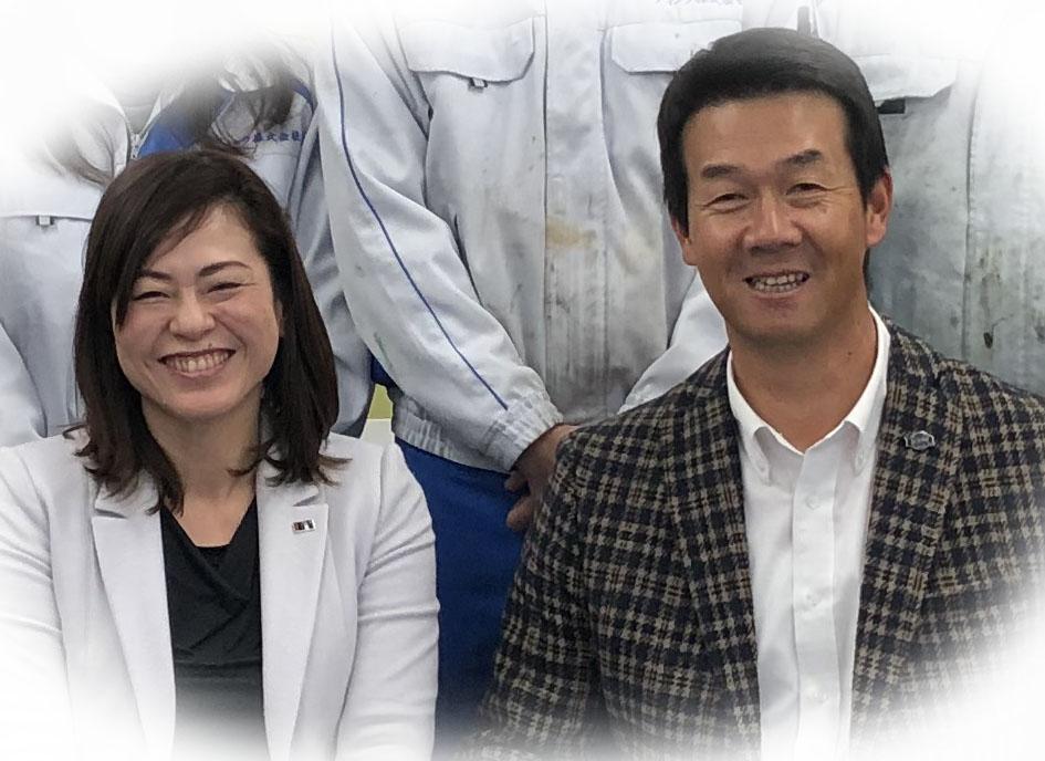 元阪神タイガース八木選手が当社を訪問、社長と対談されました。